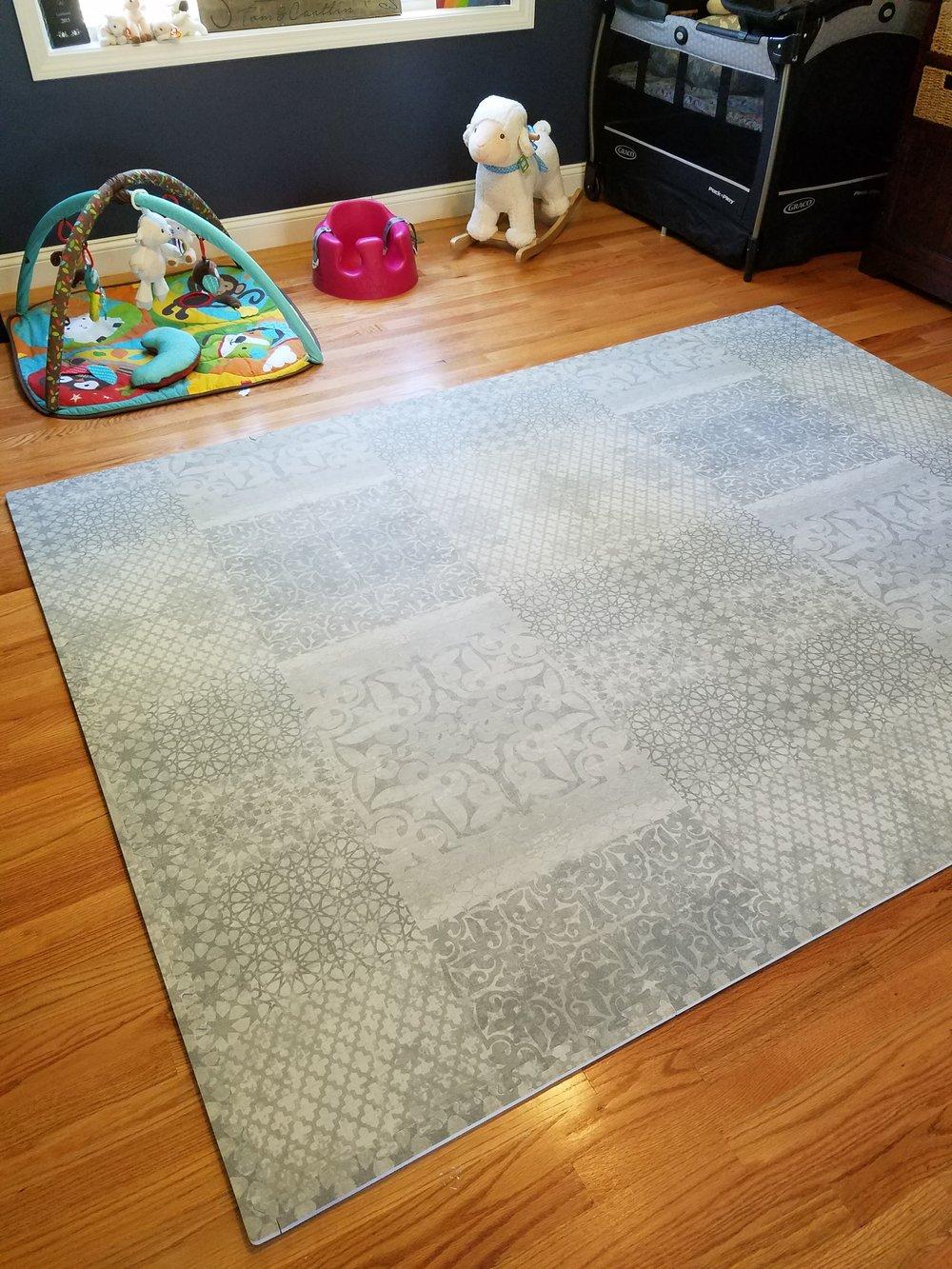 Little Nomad baby rug