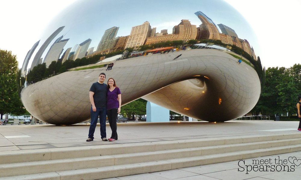 Our trip to Chicago, the Bean and other landmarks