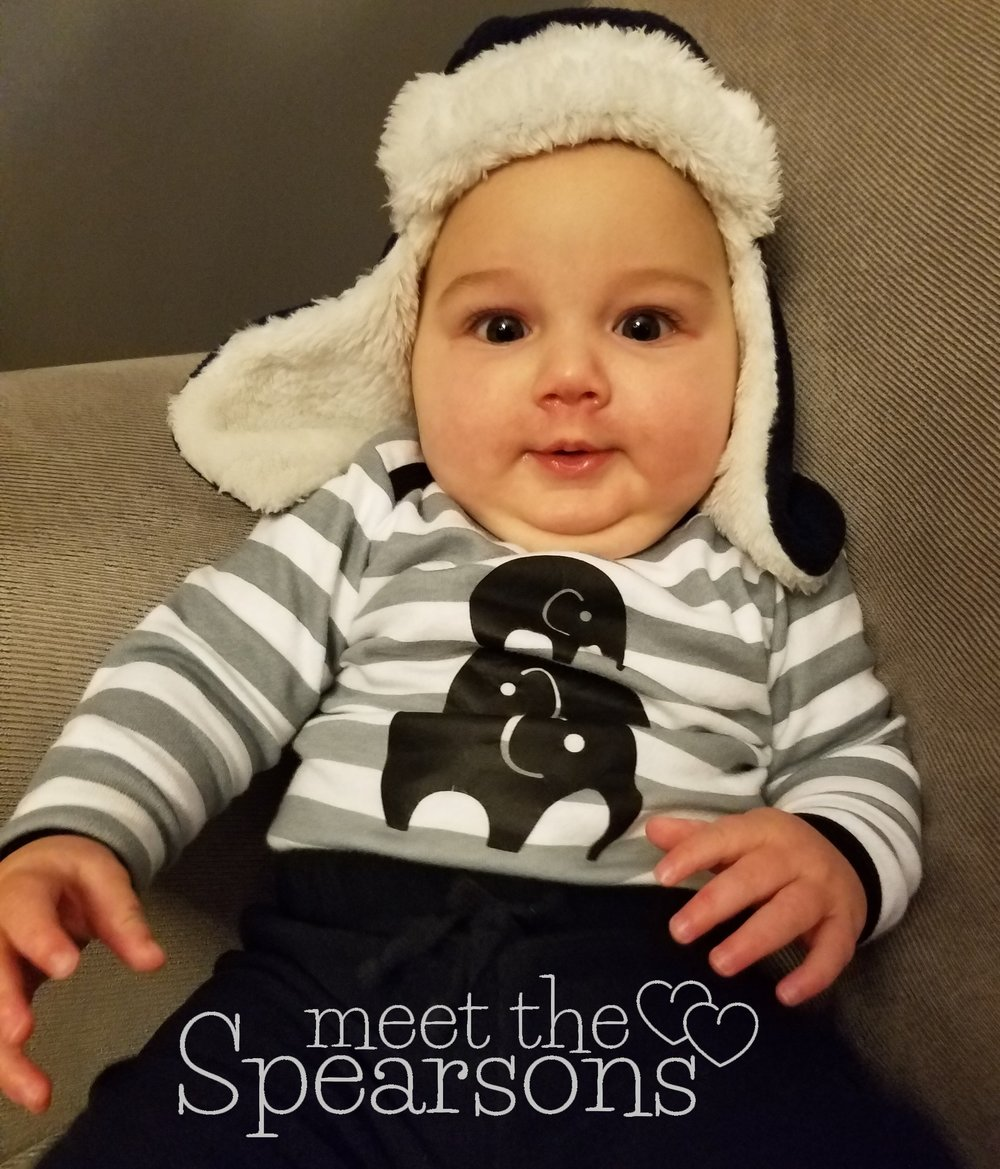 Baby in hats
