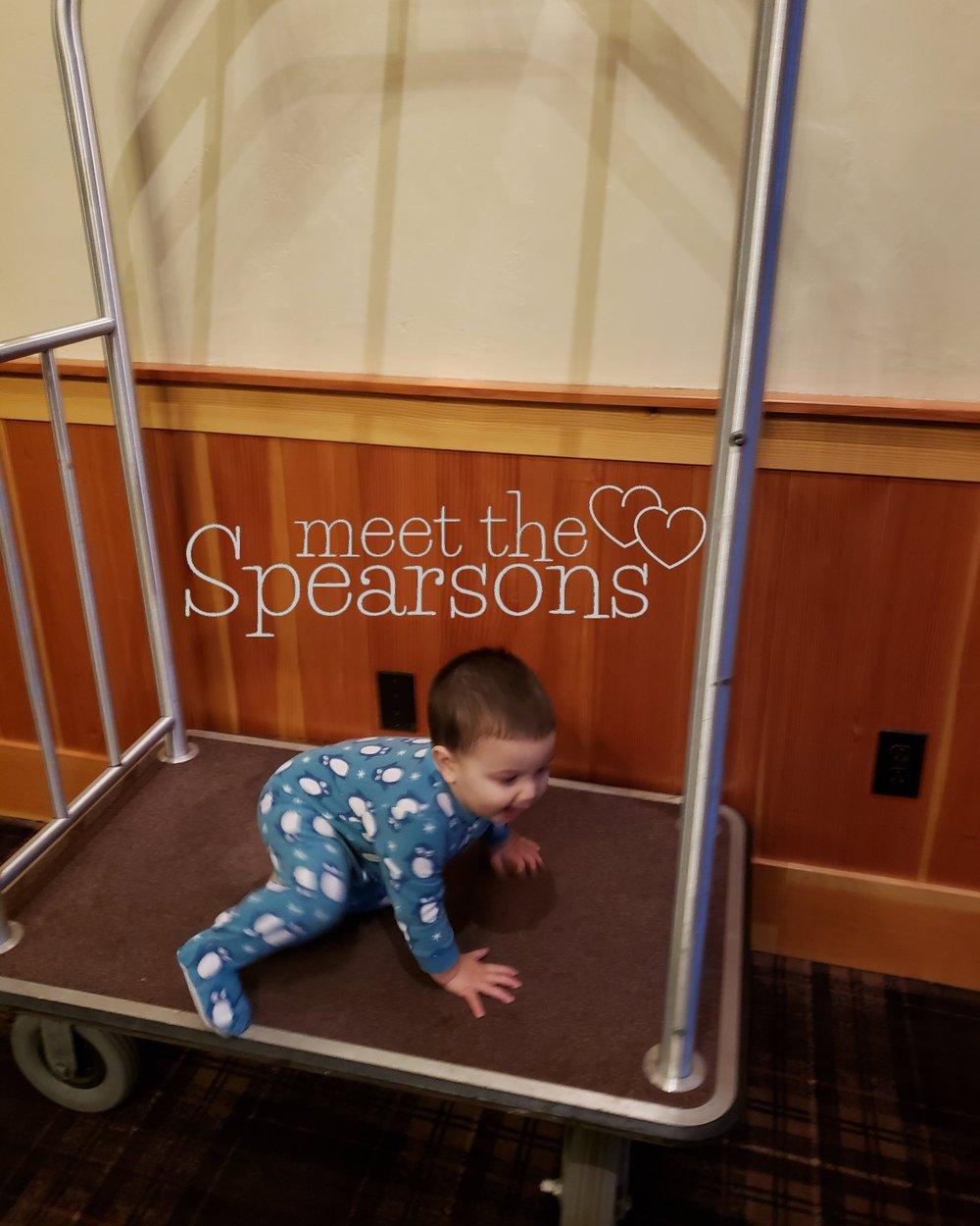 Toddler Luggage Cart