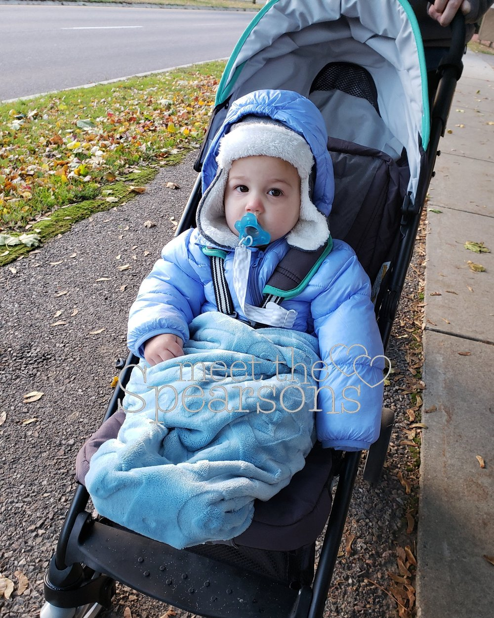 Winter Bundled Baby