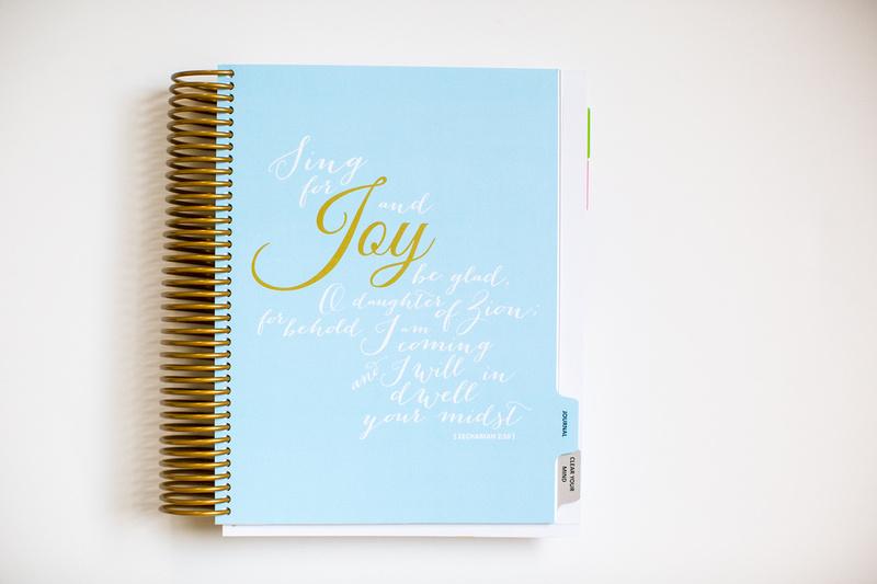 Each tab includes a pretty JOY scripture!