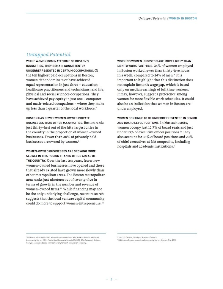2013 Report — BWWC on