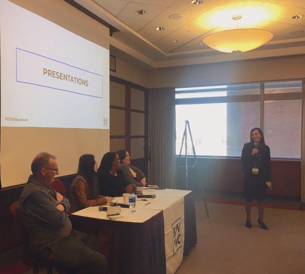 shereen with feedback panelists.jpg