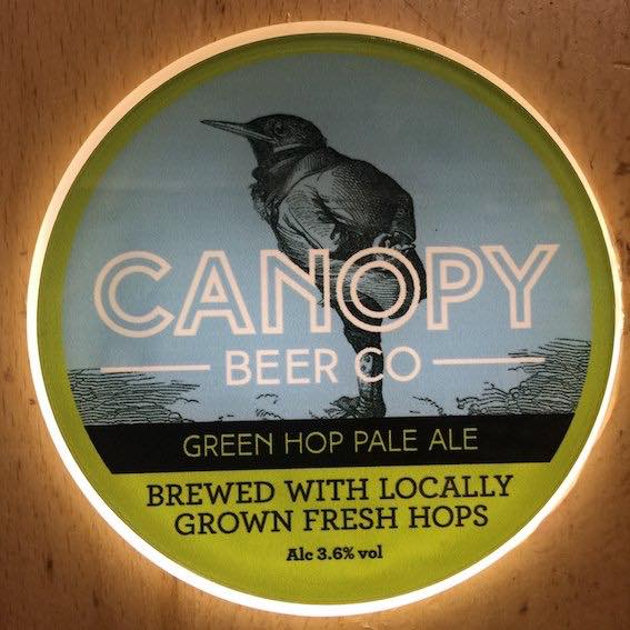 green hop was a go canopy beer co - Green Canopy 2016