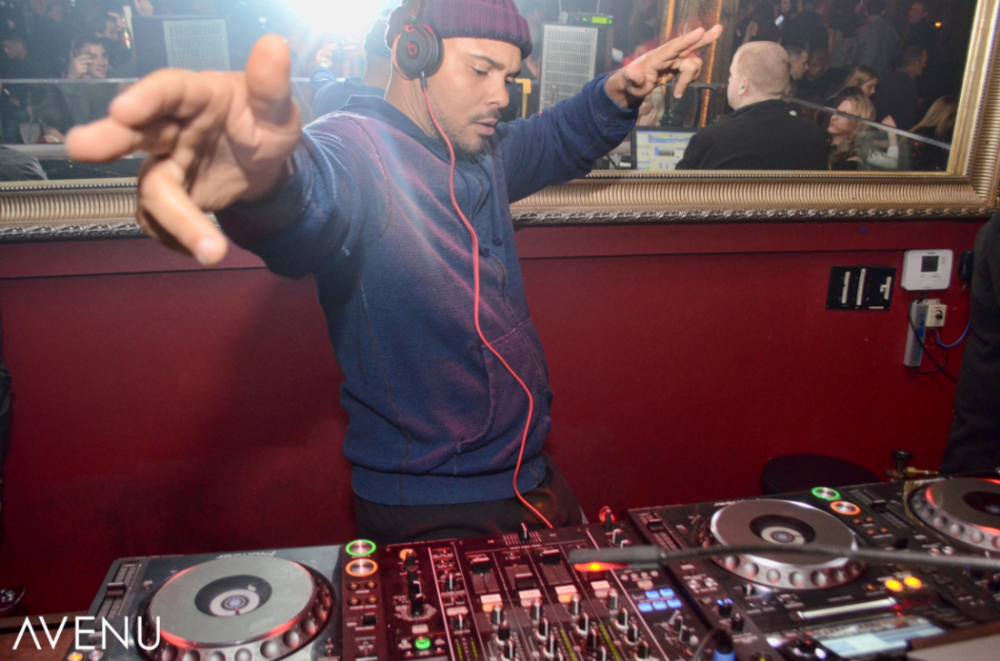 Major Lazer's Walshy Fire at Avenu Lounge