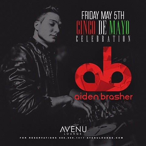 The Don himself, DJ @djaidenbrasher on the decks tonight for Cinco De Mayo! Who's ready for a margarita? #cincodedrinko #avenulounge #nightclub #party #uptowndallas #dallasedm #bottleservice #hiphop