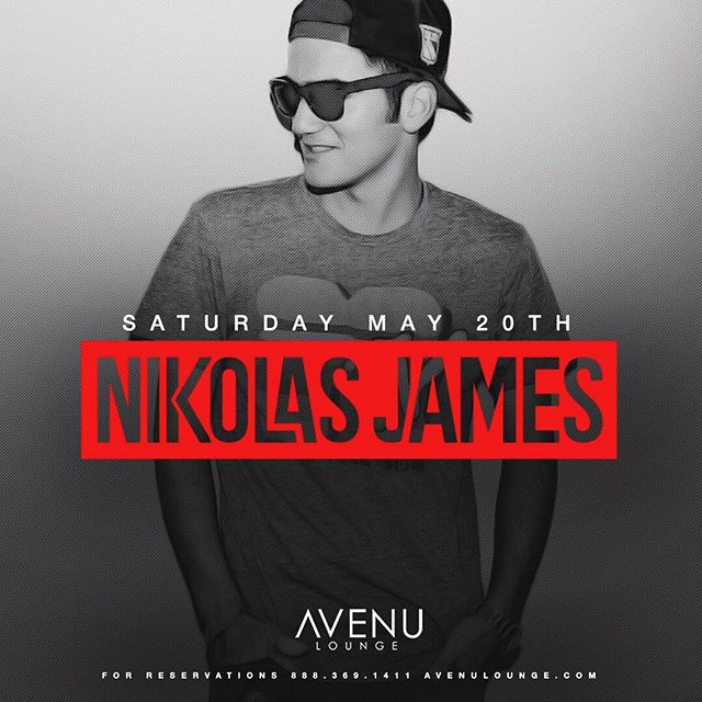 He's baaaaaaack! The one and only, @nikolas__james returns to @avenulounge tonight! Get ready for a sh*t show boys and girls! #avenulounge #uptowndallas #top100clubs #dallasedm #hiphop #uptowndallas #dallasisdallas