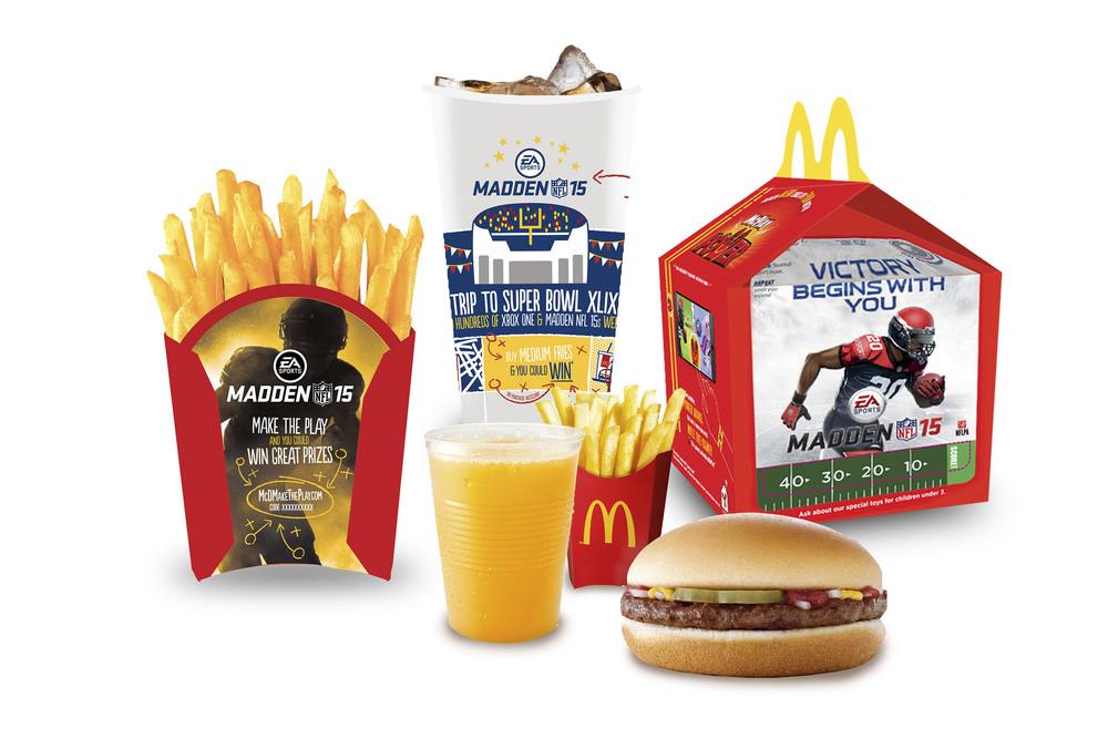 Happy Meal Packaging
