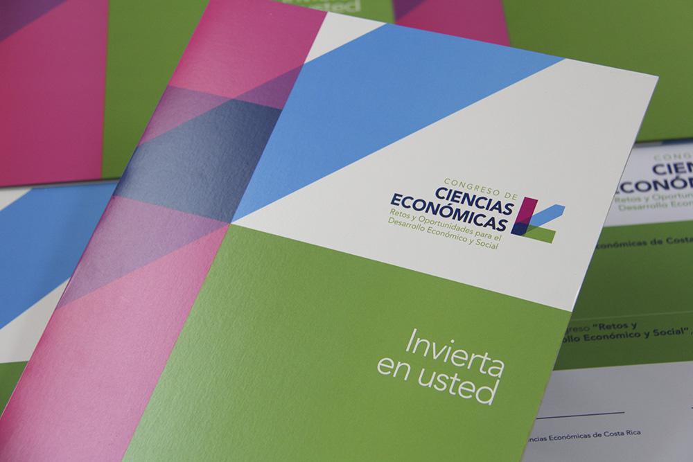 Colegio de Profesionales en Ciencias Económicas de Costa Rica  Logotipo, identidad visual y organización del Congreso de Ciencias Económicas