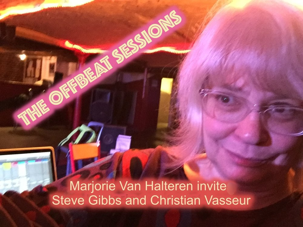 Offbeat Session #2  Steve Gibbs and Christian Vasseur, from  Sounding Arts , join Marjorie at La Rumeur, Lille January 24, 2019.