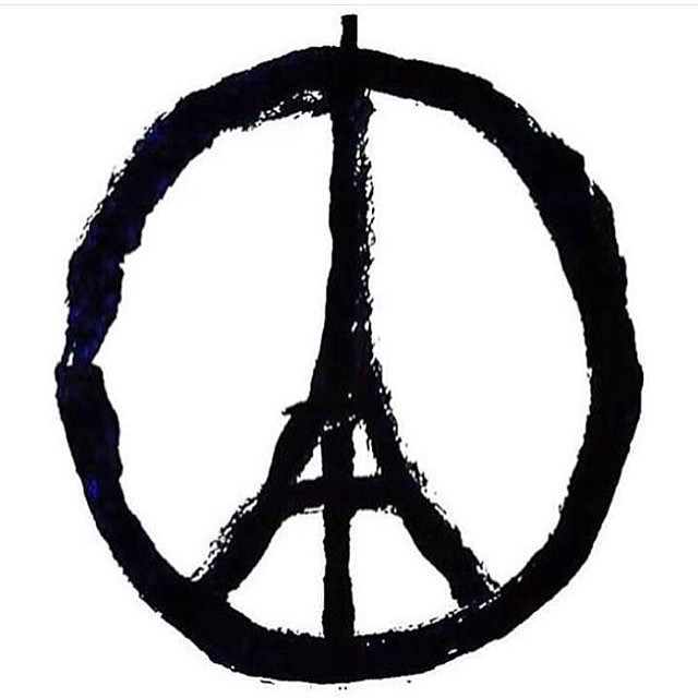 #prayforparis art by #jean_julien