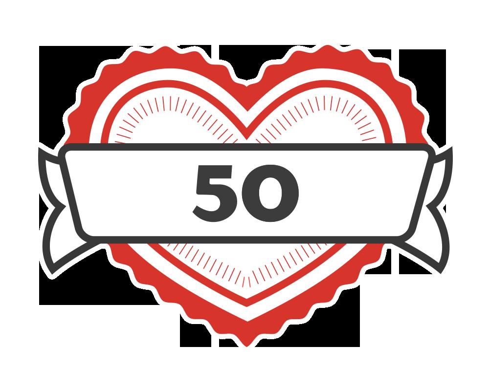 50 likes!