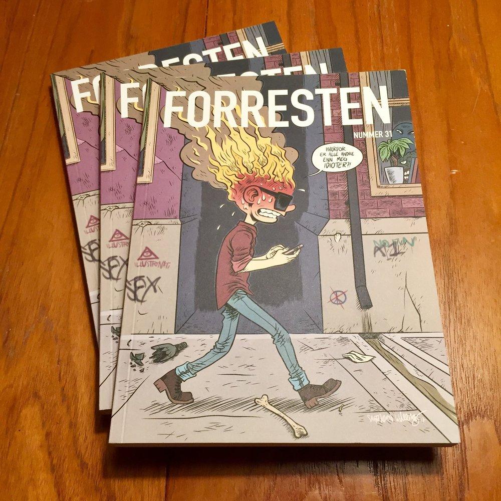 Herr FAUST in Forresten#31
