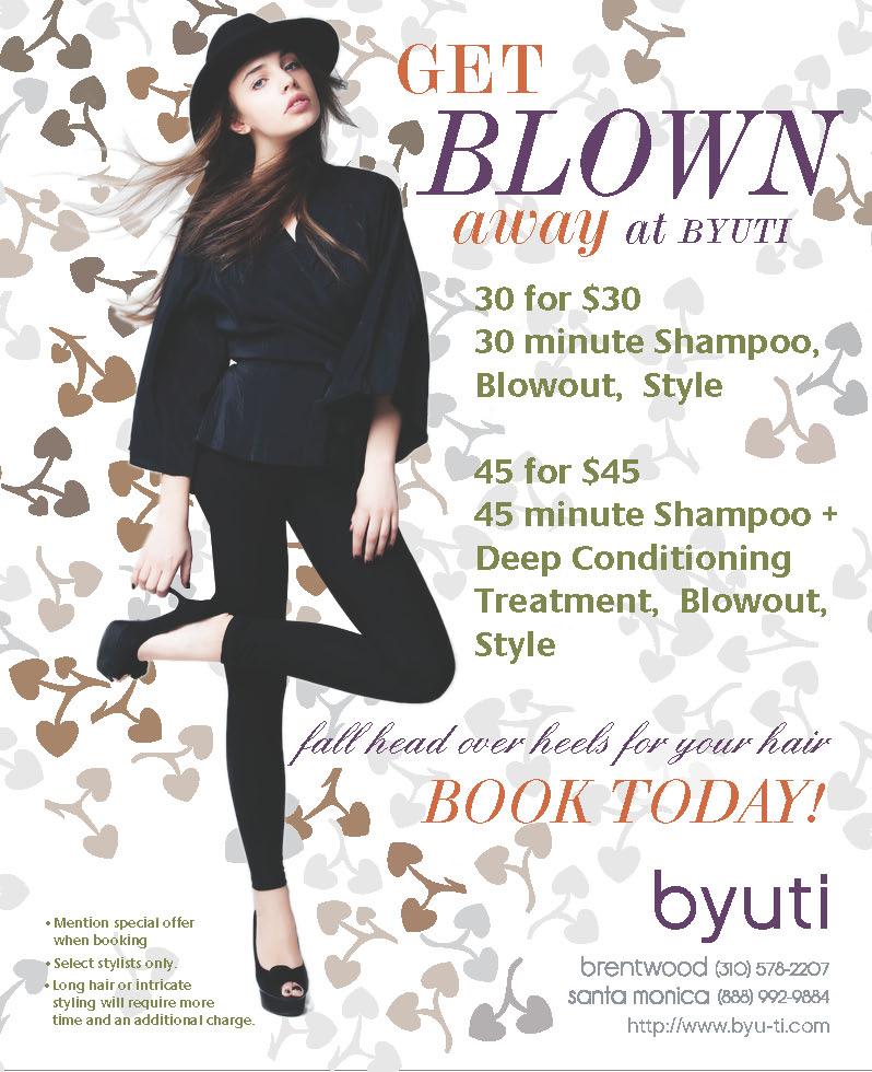 hair salon advertising