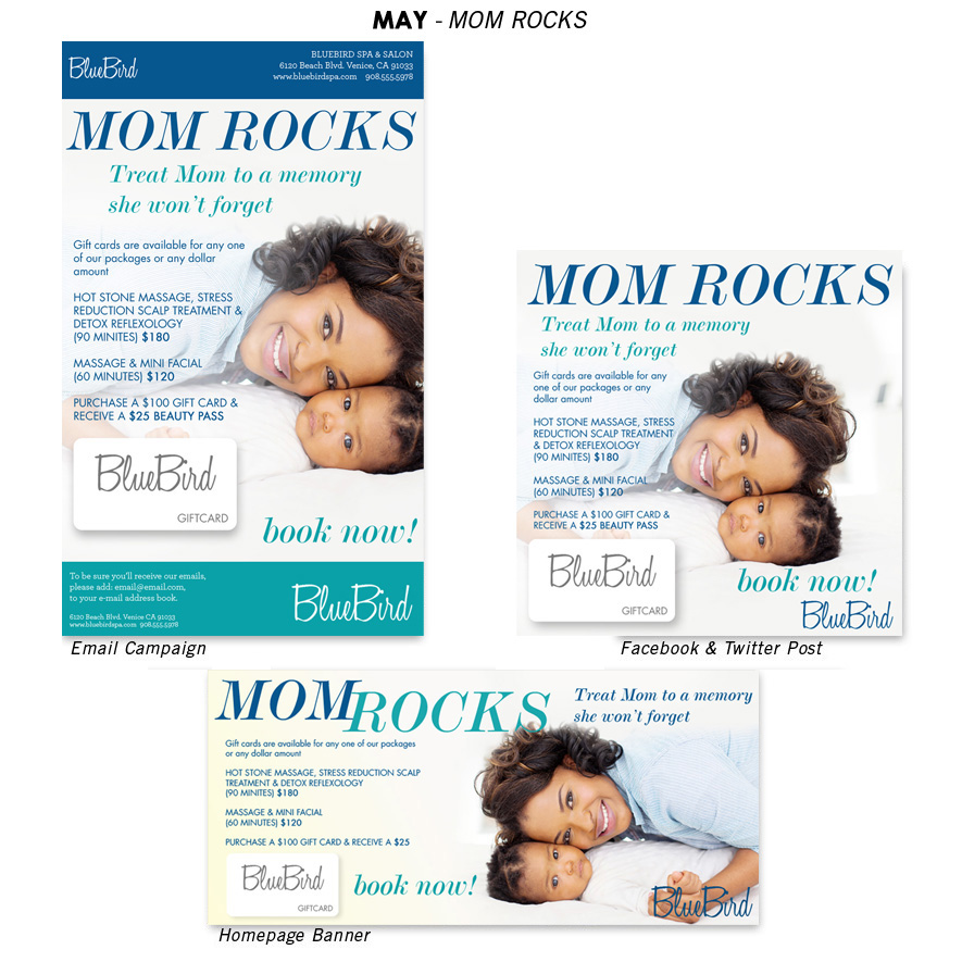mother's day salon promotion