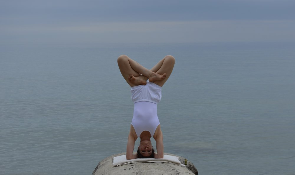 The Level III-IV class is for intermediate to advanced students and teachers who have been studying Iyengar yoga for a long time, with a self-directed home  practice that includes long inversions.  The teacher's permission is required (in advance) for this class.