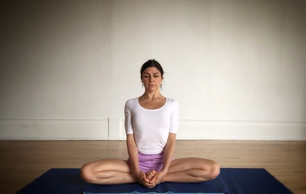 This class is taught by Intermediate Jr. II Certified Iyengar Yoga Teacher, Jennifer Beaumont.