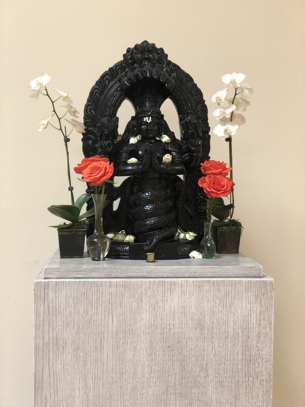 Photo of the Patañjali at the Iyengar Yoga Institute of Los Angeles