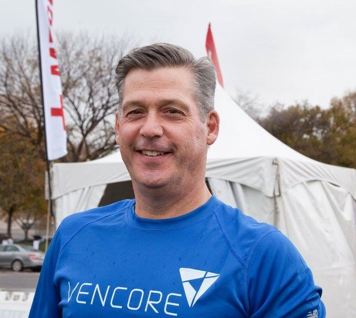 President and CEO Mac Curtis at the 2015 D.C. Heart Walk. Image courtesy of American Heart Association. Photo Credit: Sally Mannix