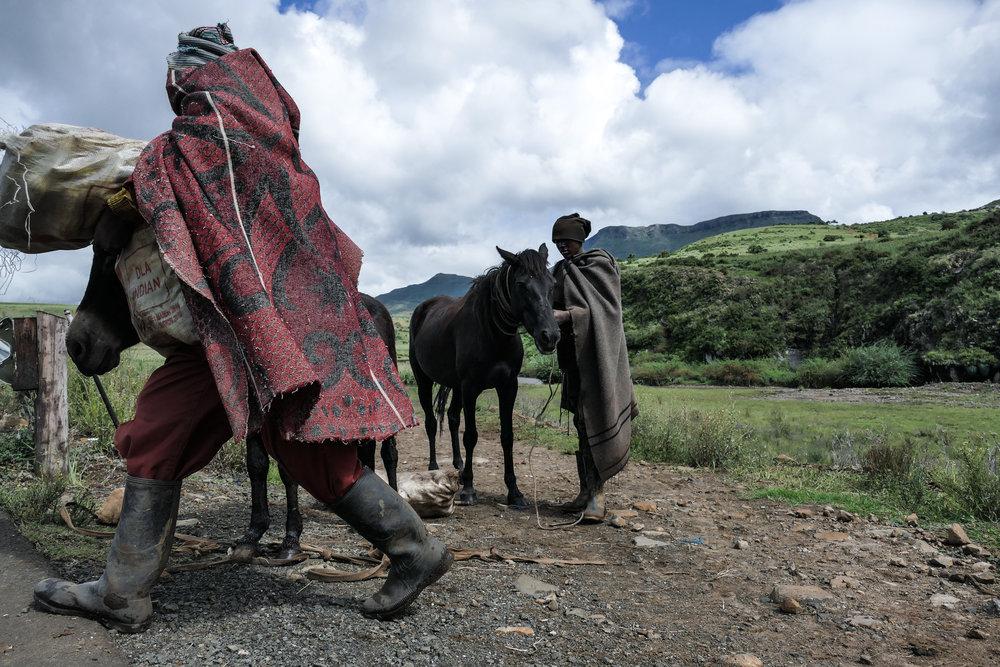Basotho Indigenous Peoples , Cultural Style &  Basotho Blankets , Landscapes of Semonkong & Maletsunyane Falls