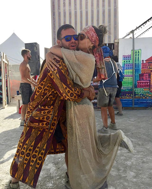 Two of our loves honeymooning at Burning Man this year. 😍😍Also! Season 3 is alive and kicking! Shop via link in Bio & see the sexy new site!!