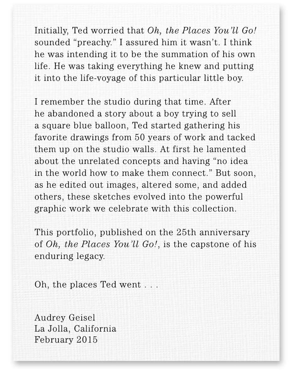 oh the places you ll go 25th anniversary portfolio the art of