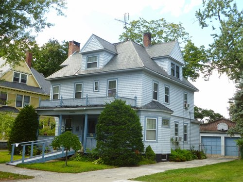 Ted Geisel's childhood home in Springfield, MA