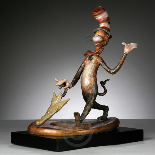 The Cat in the Hat - Bronze Maquette