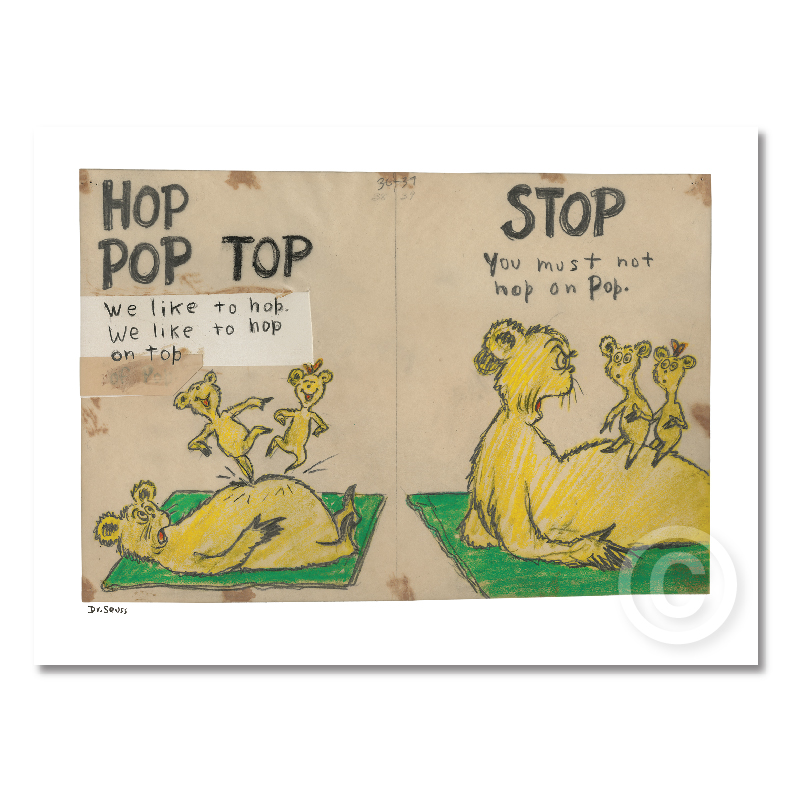 Hop Pop Top - Diptych and Single