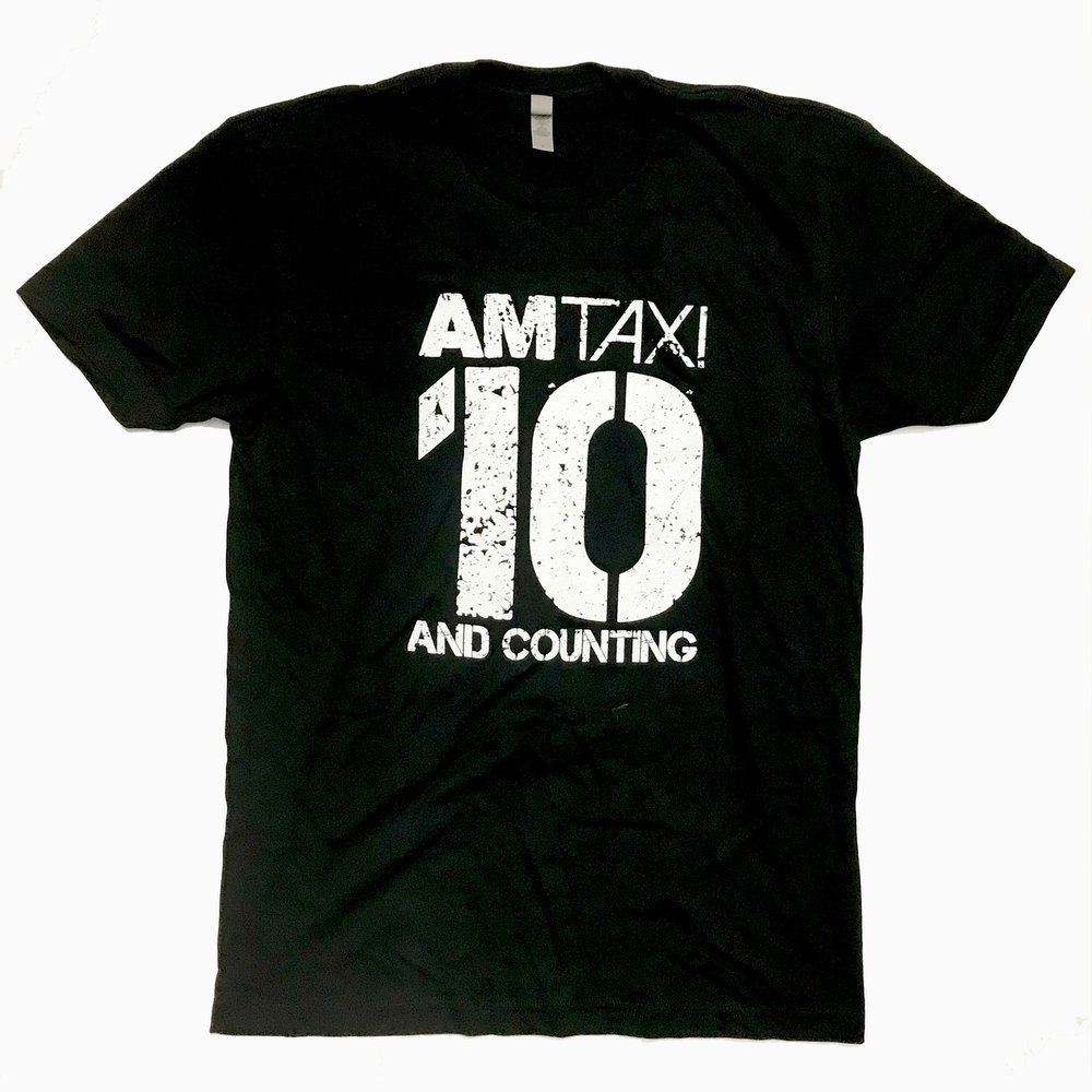 10 and counting t-shirt - black -