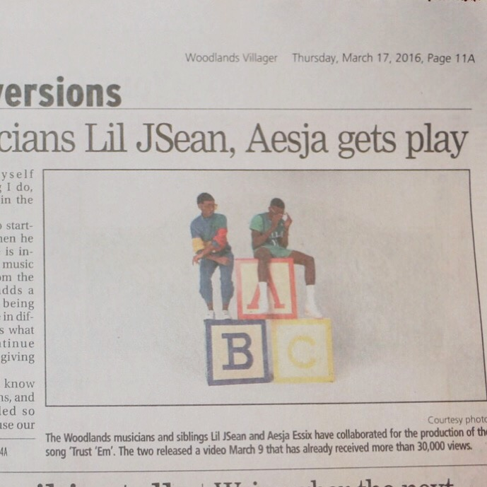 """""""'Trust 'Em' Video by Musicians Lil JSean, Aesja Gets Play"""""""