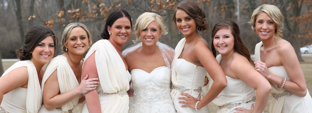 Bridal Party Hair and Makeup Smith March 2014