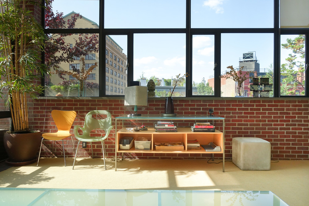 New York modern townhouse rental
