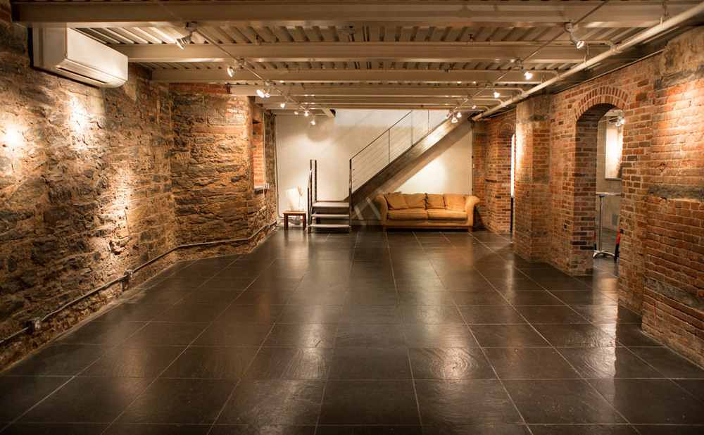 West Village brick basement