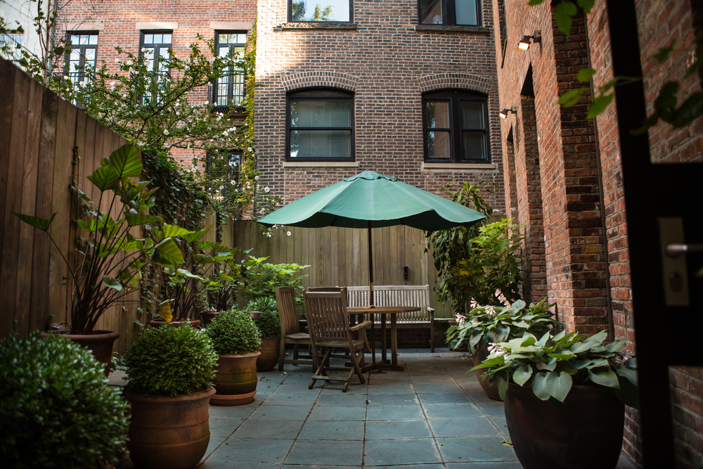 West Village event space patio
