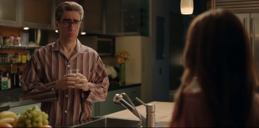 Eugene Levy in the   BMS Kitchen