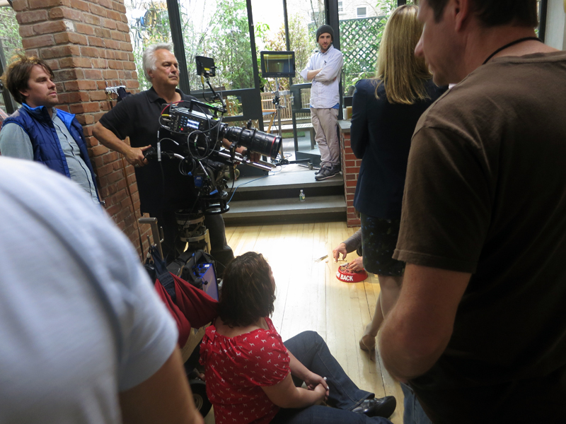 Earlier this year,  Bank of America  shot a commercial in the   BMS Kitchen   in the second floor.