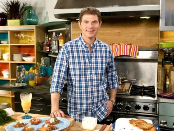 Bobby Flay at Bennett Media Studio's Kitchen