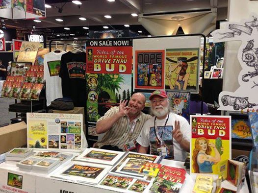 2013 San Diego Comic-Con - Golden Frog Press Booth (Vince Dugar & Pat Ryan)
