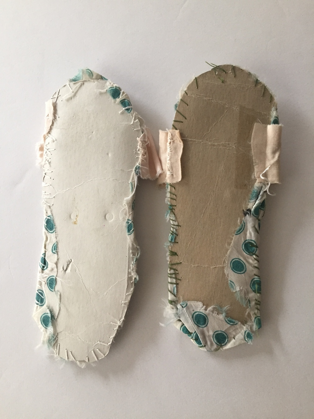 Childhood handmade slippers via Steller Handcrafted Goods blog