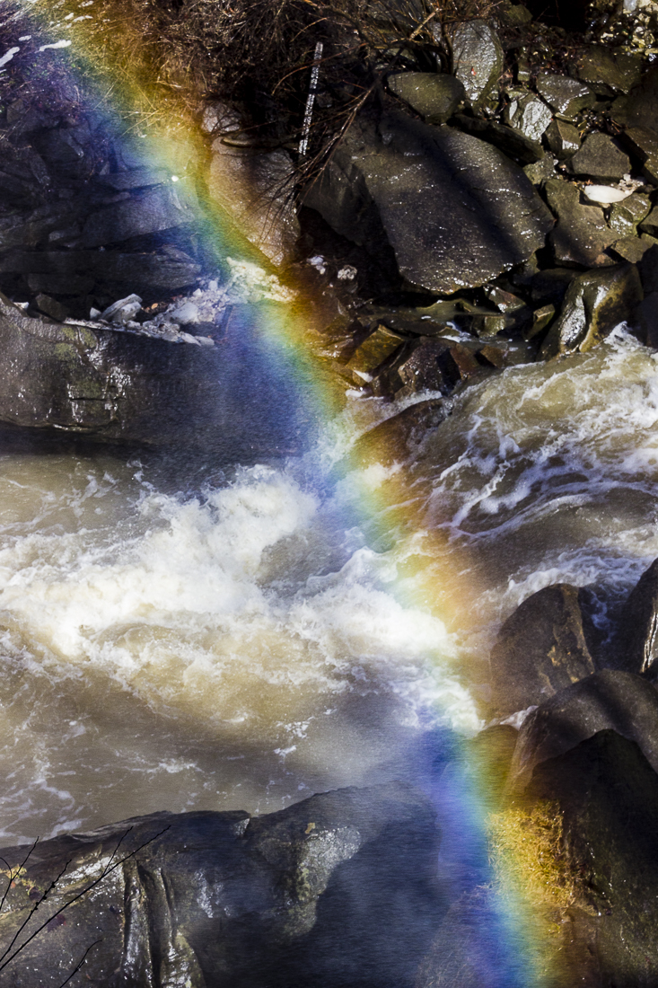 Rainbow Brandywine Falls