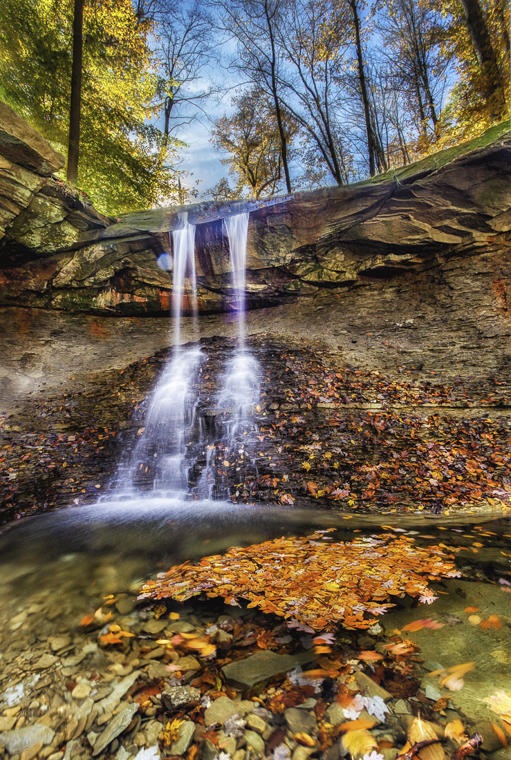 Blue Hen Falls Cuyahoga Valley National Park