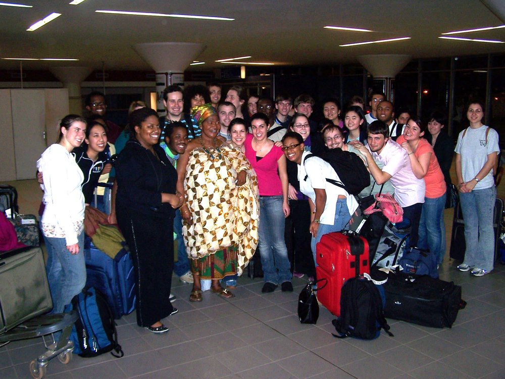 2007 Ghana Tour - Chamber Singers of Haverford and Bryn Mawr Colleges and friends