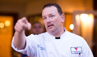 "EXECUTIVE CHEF CHRIS GARDNER, ""BREAKING THE RULES"". CLICK TO VIEW"