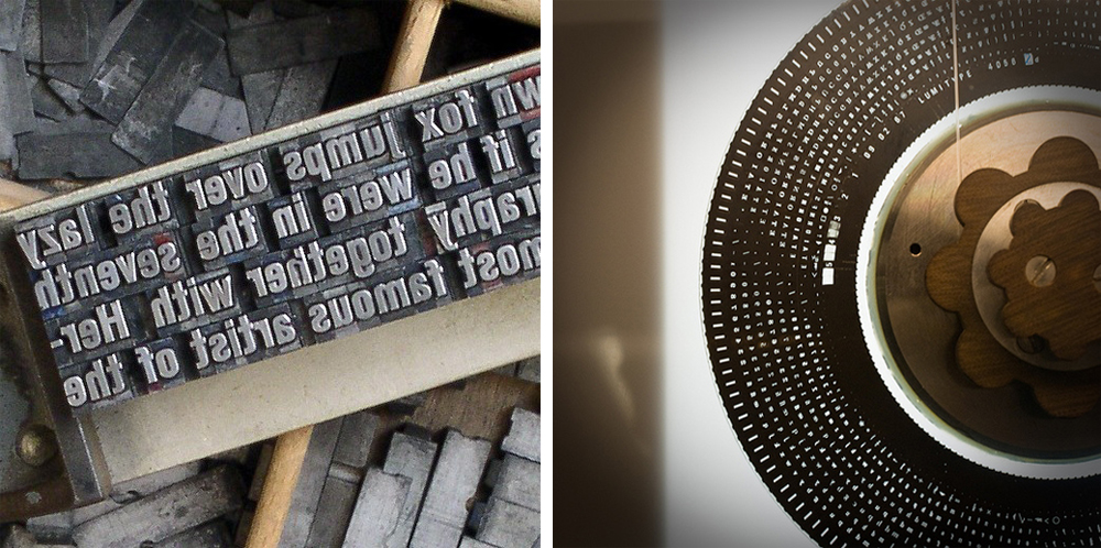 METAL VS. PHOTOTYPESETTING
