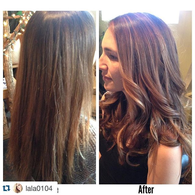 Check out this balayage by Laura! #springfever #darrylallensalon #kevinmurphy #colorme @lala0104 with @repostapp. ・・・ Balayage color,cut,and style by yours truly on the beautiful Jessica! Love that I've been doing her hair for SO LONG and that I was the first to ever color it! Loving this balayage on her,she has her Spring hair now!! . . #nofilter #spring #springhair #balayage #color #cut #style #beautiful #natural #salon #nashville #salonlife #thursday #fun #highlights