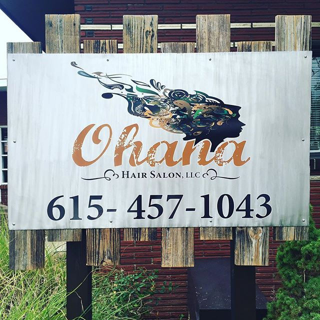 Hello lovelies! Just wanted to send out a reminder that we are in the same spot, with a new name! Feel free to give us a call at this number to schedule your next appointment 😘 #ohanahairsalon #formerlydarrylallensalon #nashvillehairstylist #nashvillesalon #midtownsalon #lashextensions #kevinmurphy #schwartzkopf #pravana #pureology #tigi @laurachronicles @ohanahairsalon_cnholder @_heatherday