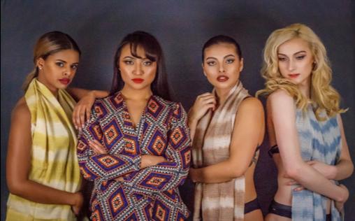 Models: Aida Gossa, Jeanny Buan, Kyarra Sumners-Daniels, Melissa Cheetham  Hair: Tina Monz  Make up: Hisa Quian  Agency: Masala Model and Talent  Photographer: Greg Clark, Titanium Photographic