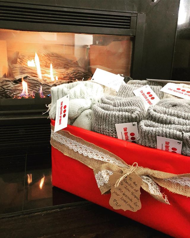 With Halloween officially behind us, we are moving quickly into the Christmas spirit! Our elves dropped off fuzzy socks for our clients at St John Hospice to help keep everyone warm on these rainy days! 🎁  Thanks to a very generous donor in our community for gifting us with these cozy treats!